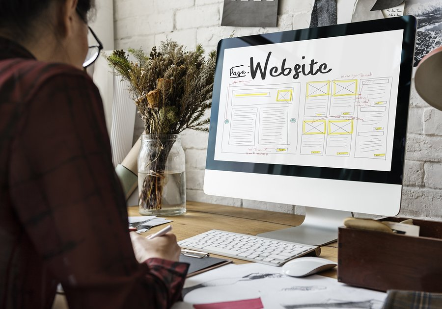 updating your website design