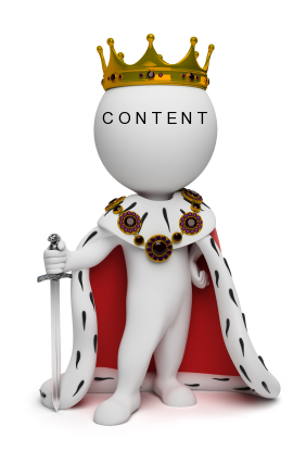 content the king