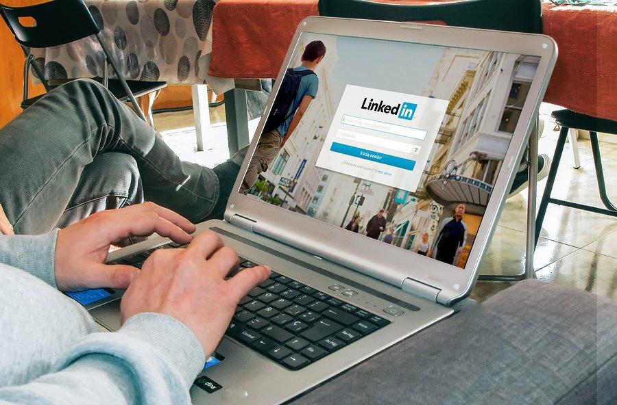 target clients on LinkedIn
