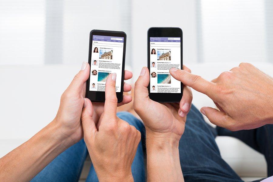 a social media presence