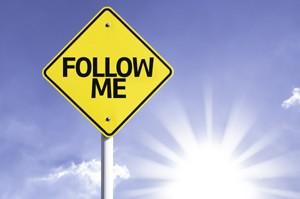 follow me - twitter