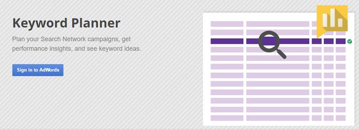 google planner tool
