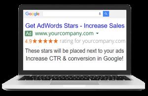Google Rating Stars