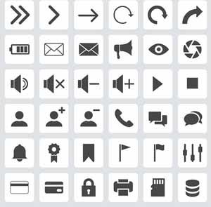pre made icons
