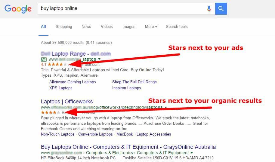 organic searches