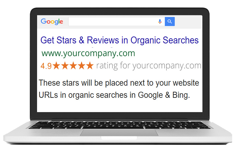 Stars in organic searches