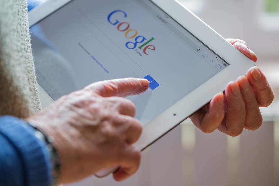Google searches on ipad