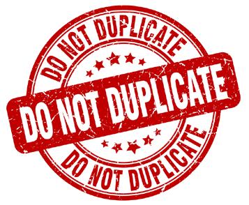 duplicate sigh