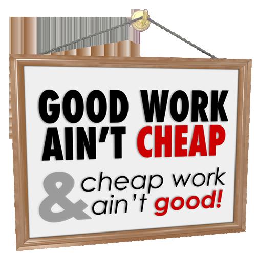 cheap SEO ain't good work