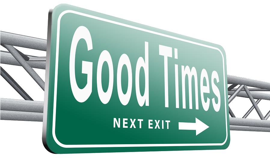 good posting time - next exit