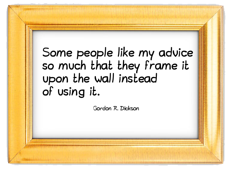 Quote Gordon R. Dickson