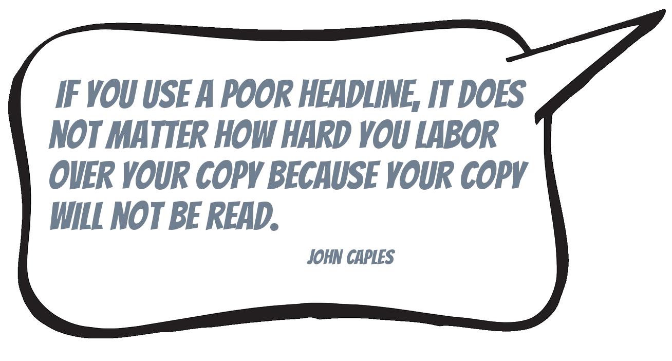 Quote John Caples