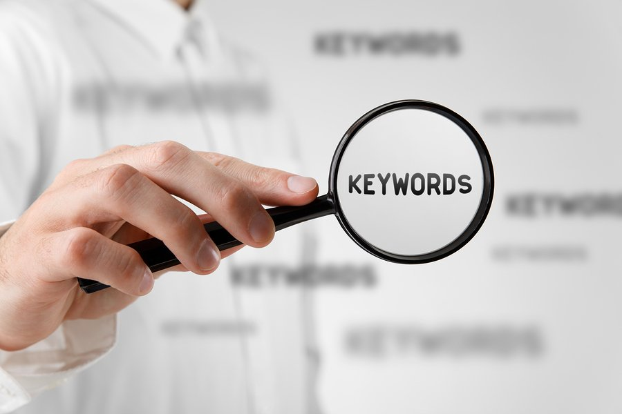make sure you choose the right keywords