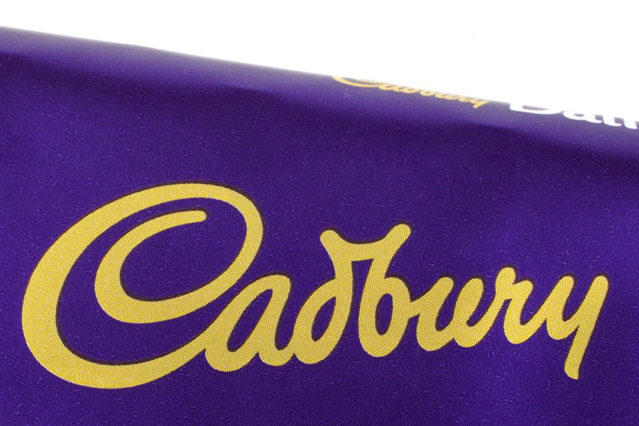 cadbury have trademarked their purple colour
