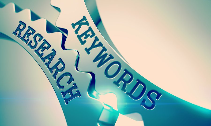 choose relevant keywords for your homepage