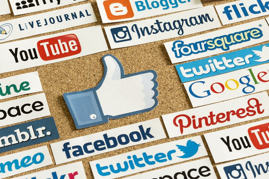 you should choose a variety of different social media platforms