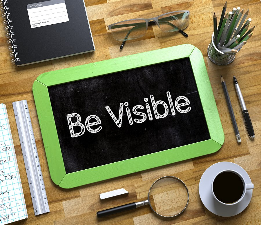 be visible on google