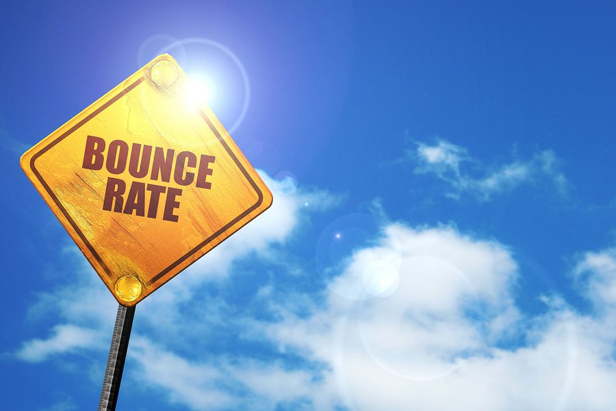 bounce rate needs to be low