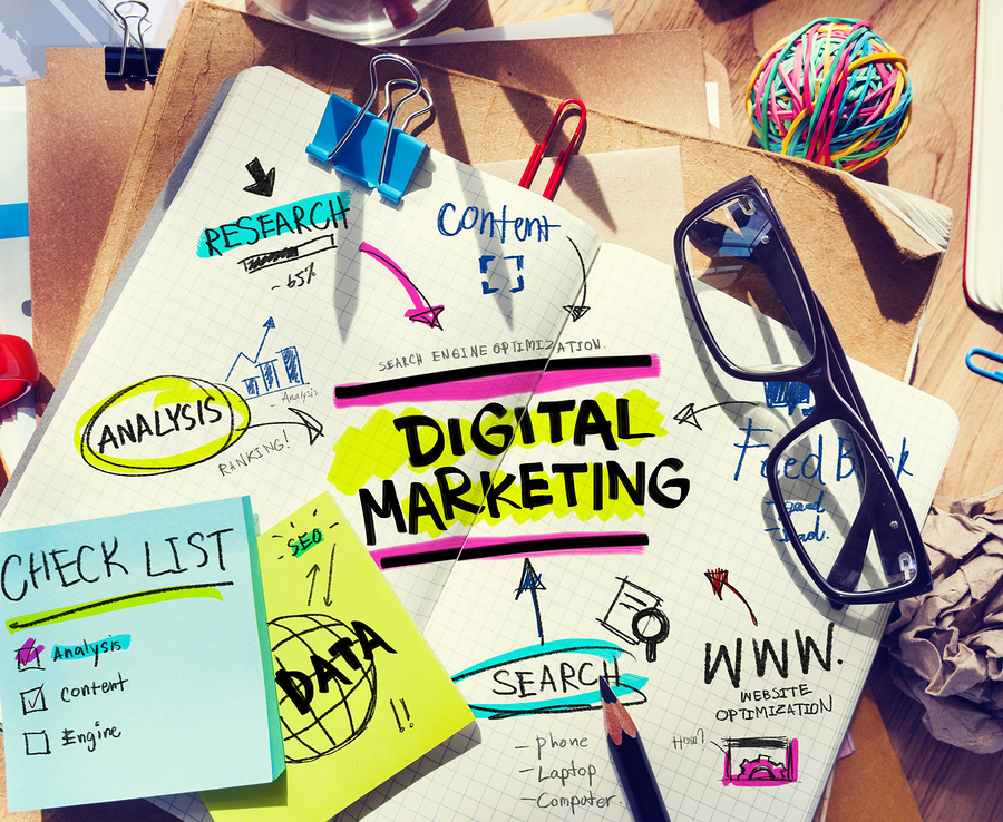 digital marketing research and strategy