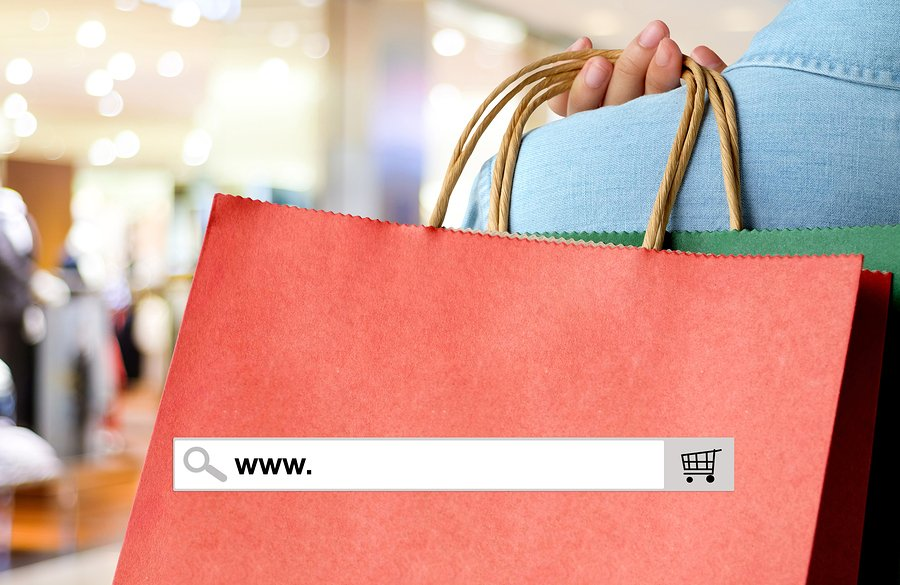 e-commerce website or shopping in store