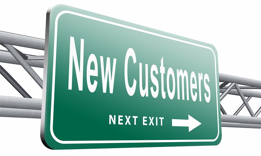 attracting new customers onto your website