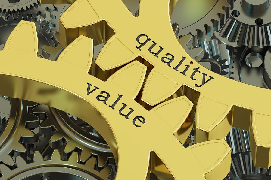 quality and value are important for content
