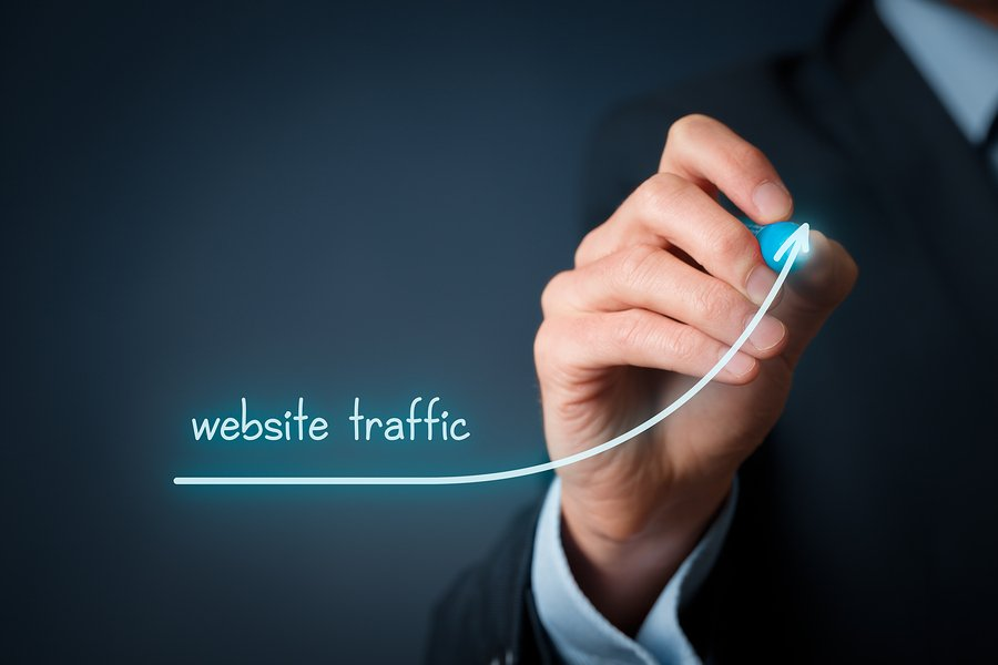 website traffic increase