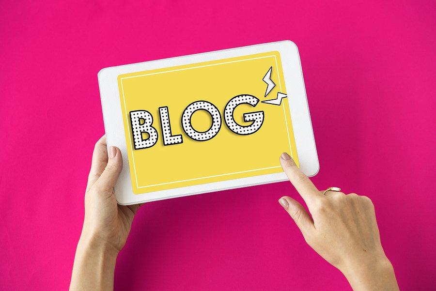 website feature blog