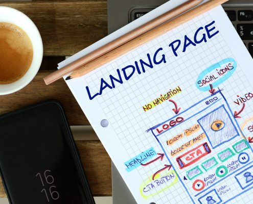 How to use keywords in your landing page
