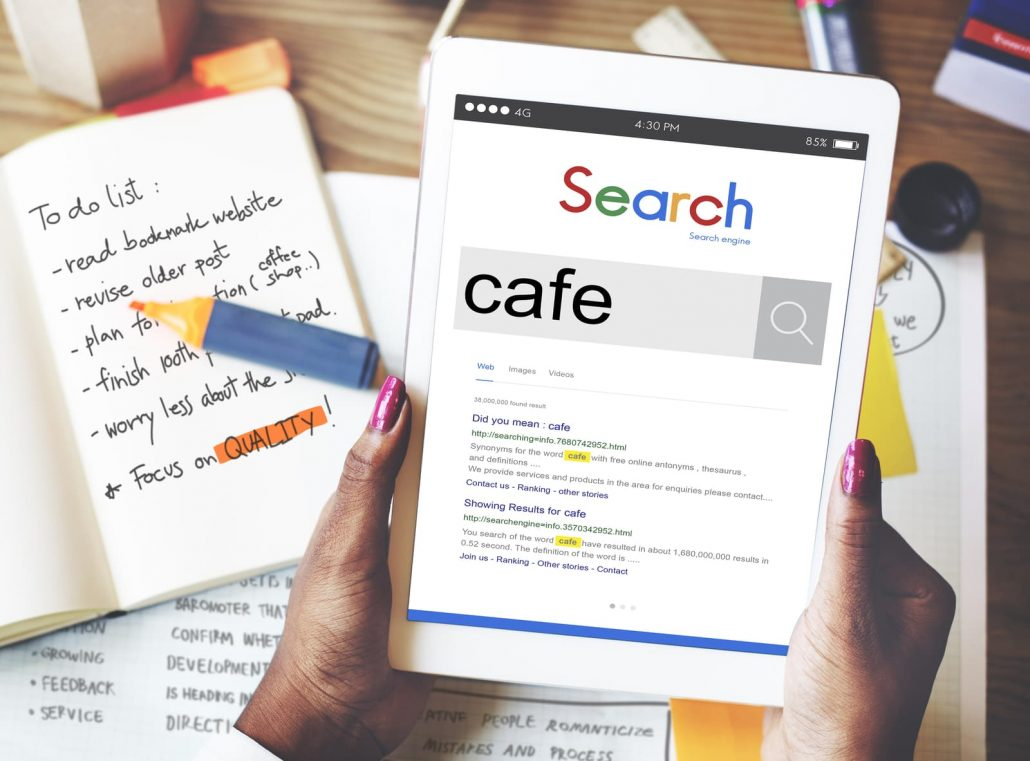 Search Engine Optimization for Cafes Bars Pubs