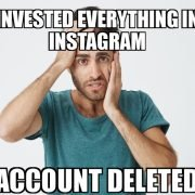 Instagram suddenly deletes several big meme accounts