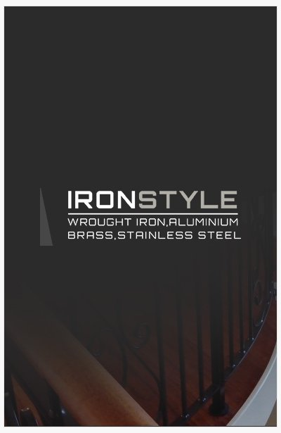 ironstyle site banner
