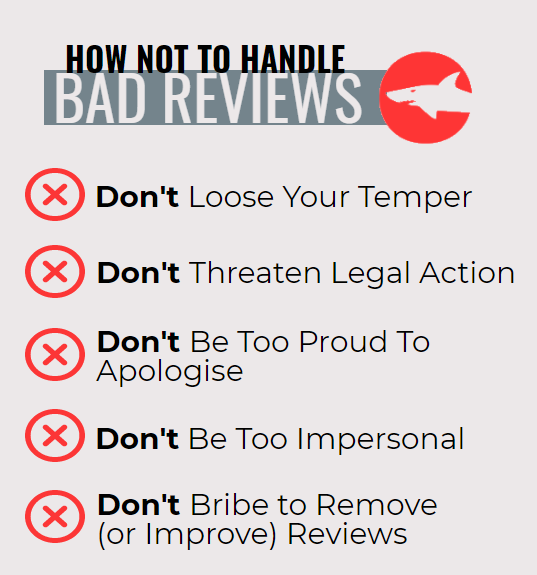 How not to handle bad reviews